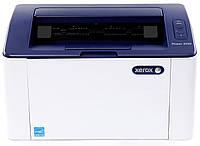 Монохромний лазерний принтер Xerox Phaser 3020BI Wi-Fi (3020V_BI) для дому та офісу