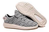 Женские кроссовки Adidas Yeezy Boost 350 серые, фото 1