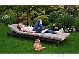 Шезлонг Allibert by Keter Daytona с мягкими подушками, фото 4