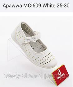 Белые туфельки нарядные для девочки