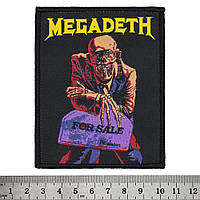"""НАШИВКА MEGADETH """"PEACE SELLS… BUT WHO'S BUYING?"""""""