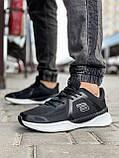 Кросівки чоловічі 18495, Genesis S. U. P. O., чорні, [ 41 42 43 44 45 46 ] р. 41-25,7 див., фото 2