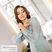 Платье миди женское закрытое шёлк 42,44,46,48, фото 3