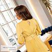 Платье миди женское закрытое шёлк 42,44,46,48, фото 7