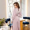 Платье миди женское закрытое шёлк 42,44,46,48, фото 2