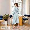 Платье миди женское закрытое шёлк 42,44,46,48, фото 5