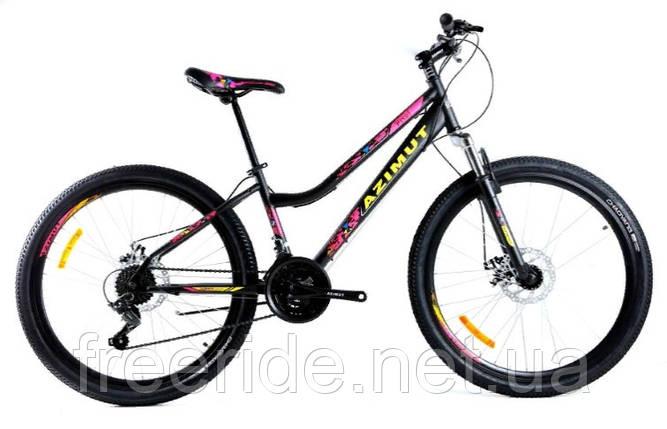 Подростковый велосипед Azimut Pixel 24 G-FR/D (12), фото 2
