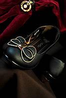 Женские туфли с бантиком 36,38