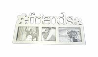 "Фоторамка 3Ф ""friends"" белая"