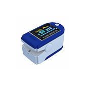 Пульсоксиметр LK-88 Цветной OLED дисплей - Синий