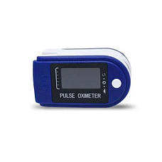 Пульсоксиметр LK-88 Кольоровий OLED дисплей - Синій, фото 2