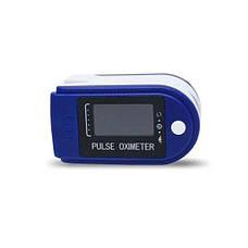 Пульсоксиметр LK-88 Цветной OLED дисплей - Синий, фото 2