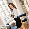 Блуза жіноча стильна софт+сітка 42,44,46,48, фото 2