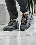 Кросівки чоловічі тактичні демісезонні прошиті (Кз-401ч-2), фото 7