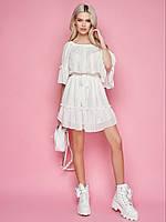 Женское платье из шифона Poliit 8827