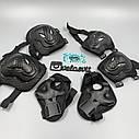 Комплект защиты для взрослых, налокотники, наколенники, перчатки+ШЛЕМ, фото 7