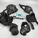 Комплект захисту для дорослих, налокітники, наколінники, рукавички+ШОЛОМ, фото 8