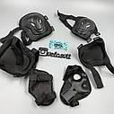 Комплект защиты для взрослых, налокотники, наколенники, перчатки+ШЛЕМ, фото 8