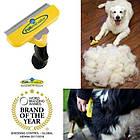 ОПТ Фурминатор леза 10 см для кішок і собак, щітка для грумінгу та зменшення линьки у домашніх тварин, фото 3