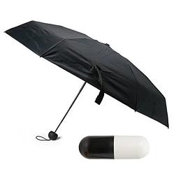 Міні парасолька капсула | компактний парасольку у футлярі чорний | капсульний парасольку | маленький