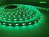 Светодиодная лента LED 5050 - 12W Blue, Green, Red, White | лед лента синяя, зеленая, красная, белая, фото 5