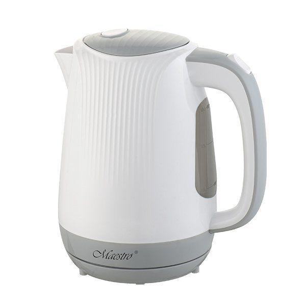 Электрочайник Maestro MR-042 серый (1.7 л, 2200 Вт)   электрический чайник Маэстро, Маестро
