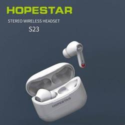 Беспроводные блютуз наушники гарнитура Hopestar S23 Bluetooth V5.0 + кейс для зарядки.