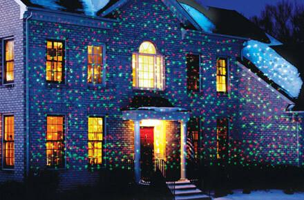 Лазерний проектор для будинку з пультом Star Shower metal 66 RG 12-83 | гірлянда лазерна підсвічування для