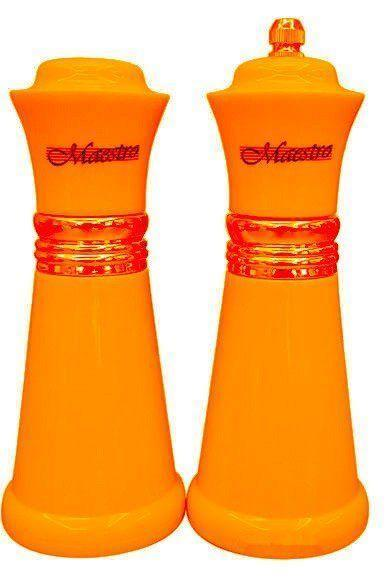 Набір сіль/перець MAESTRO MR-1626 помаранчевий | набір для спецій Маестро | солонка і перечниця Маестро