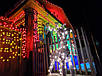 Гирлянда зерно 300LED 21м Микс (RD-7167), Новогодняя бахрама, Светодиодная гирлянда, Уличная гирлянда, фото 5