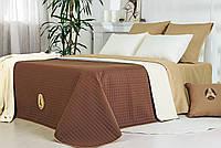 Покрывало на кровать стиль Люкс 210*240 шоколад-молоко