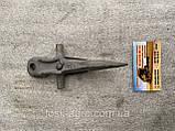 Палец одинарный КЗНМ 08.010 режущего аппарата СК-5,НИВА ( Палец жатки ), фото 2