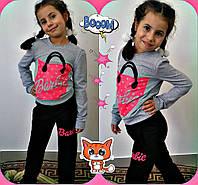 """Костюм для девочки """"Барби"""" р. 122-128-134-140, цвета разные!"""