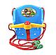 Дитяча гойдалка з пискавкою Технок 1790 Сонечко Червона | гойдалка для дитини | пластикова підвісна гойдалка, фото 6