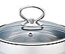 Каструля з кришкою з нержавіючої сталі Maestro MR-3508-26 (7 л)   набір посуду Маестро   каструлі Маестро, фото 3