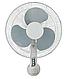 Вентилятор 2 в 1 Maestro MR 902 (3 швидкості) | підлоговий вентилятор Маестро | настінний вентилятор Маестро, фото 3