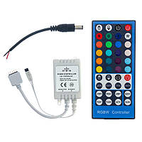 Контроллер RGB+W 8А 96вт 40кнопок для светодиодной ленты