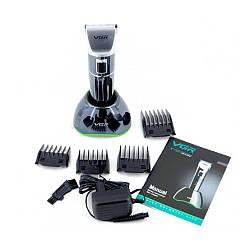 Профессиональная машинка для стрижки волос с насадками VGR V-002   триммер для волос