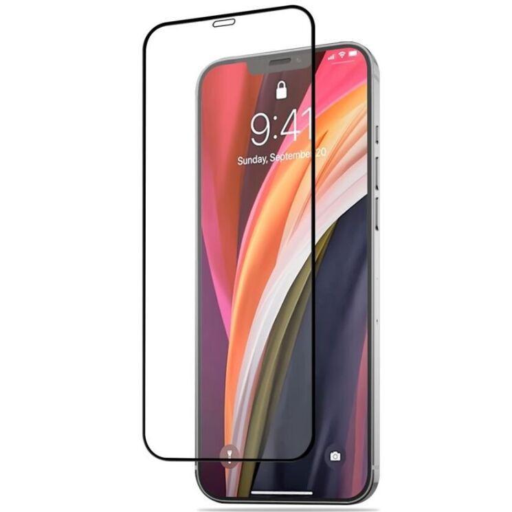 Захисне скло Mocolo для iPhone 12 mini (PG5740) 3D Curved Full Cover Tempered Glass з олеофобним покриттям