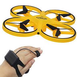 Квадрокоптер управляемый рукой Trac KFR | летающий дрон | радиоуправляемый квадрокоптер | коптер