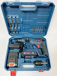 Перфоратор Bosch GBH 36 V-Li-акумуляторний 36V 5Ah в кейсі | Професійний перфоратор Бош
