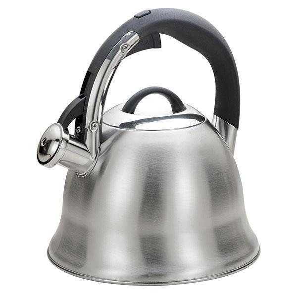 Чайник зі свистком з нержавіючої сталі Maestro MR-1320 (3 л) | металевий чайник Маестро, Маестро
