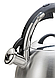 Чайник зі свистком з нержавіючої сталі Maestro MR-1320 (3 л) | металевий чайник Маестро, Маестро, фото 2