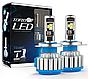 Светодиодные LED лампы T1-H11 для автомобиля | автолампы HeadLight TurboLed, фото 8