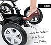 Универсальная коляска 2 в 1 Icoo Peak Air, фото 5