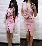 Платье футляр с накидкой MR2318, фото 4