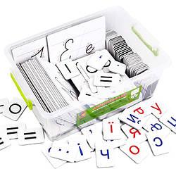 Набір для навчання грамоти та письма на магнітах