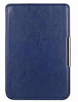 Чехол обложка PocketBook 622  Touch  темно синий, фото 3