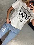 Женский летний  брендовый спортивный костюм (Турция,RAW); Размеры:ХЛ,ХХЛ,3ХЛ,4Хл (полномерные), фото 2