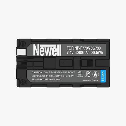 Акумулятор Newell NP-F770 5200 маг, фото 2